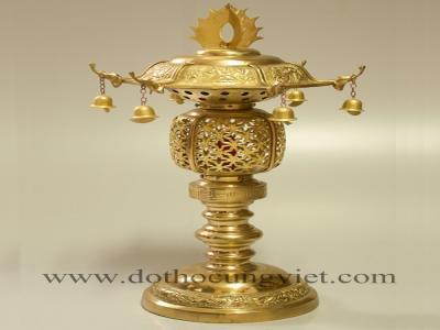 Những mẫu đèn thờ bằng đồng đẹp và chất lượng nhất