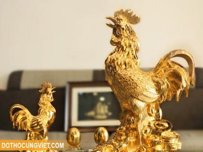 Cách đặt tượng gà trống phong thủy giúp sự nghiệp luôn thăng tiến
