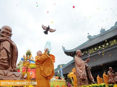 Hướng dẫn cách làm lễ đài Phật Đản tại gia