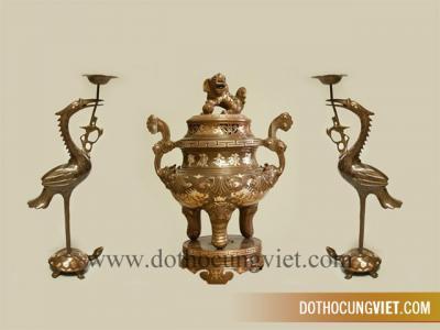 Mẫu bàn thờ gia tiên và phong tục thờ cúng
