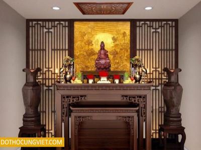 Tổng hợp những mẫu bàn thờ phật đẹp nhất