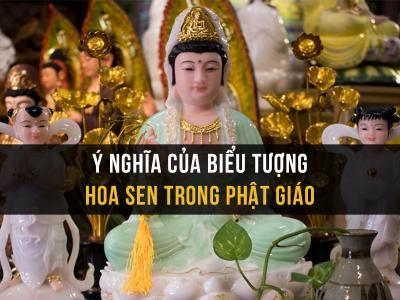 Ý nghĩa sâu sắc của biểu tượng hoa sen trong đạo Phật