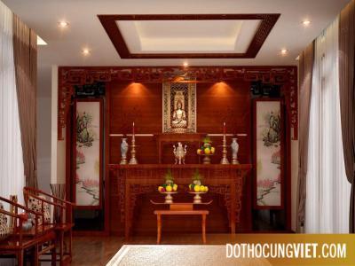 Bố trí bàn thờ trong căn hộ chung cư