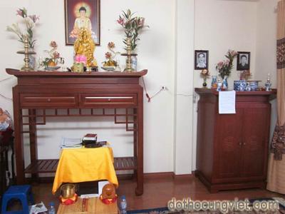 Những nghi thức khi thờ Phật tại gia mà chúng ta nên biết