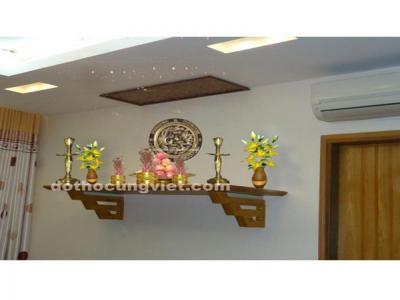 Chọn kích thước bàn thờ treo tường chuẩn theo thước Lỗ Ban