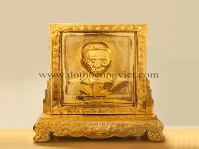 Khung ảnh thờ bằng đồng đẹp tại Hà Nội