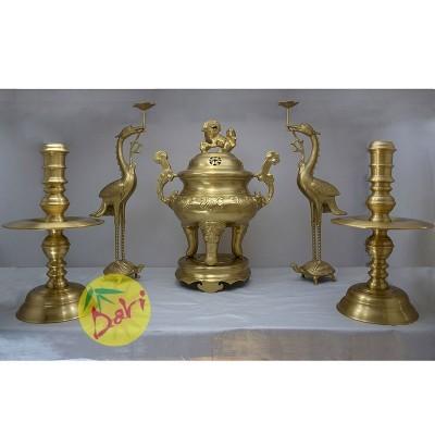 Bộ Ngũ Sự đồng vàng đúc