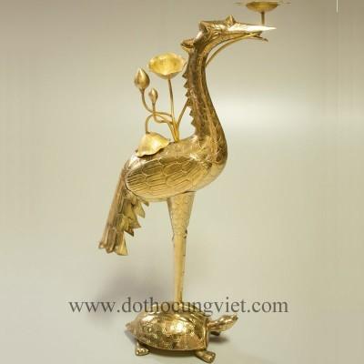 Đôi hạc đồng vàng đặc biệt