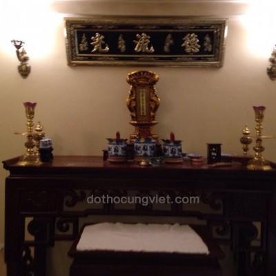 Mẫu bàn thờ gia tiên đơn giản