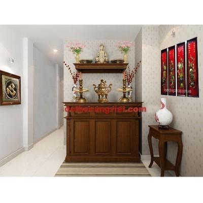 Phòng thờ biệt thự hiện đại